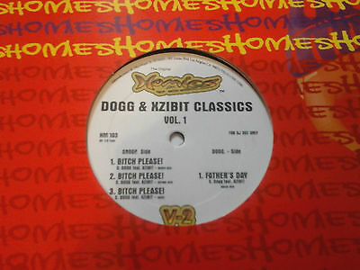 "Snoop Dogg ft Xzibit - Bitch Please/Father's Day 12"" VINYL USA Import RARE"