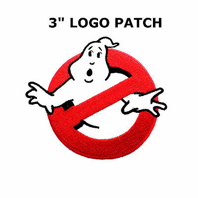 """Ghostbusters Movies No Ghosts Logo Embroidered Iron/Sew On Patch 3"""""""