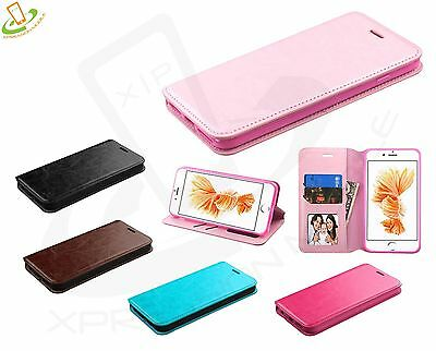 For Apple iPhone 7 8 PLUS Leather Wallet Case Pouch Flip Stand Phone Cover Book