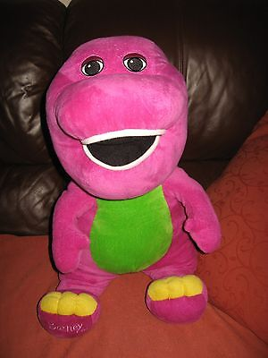 """Barney Soft Cuddly toy 20"""" to 24"""" inches"""