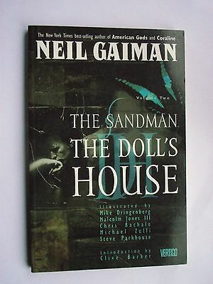 The Sandman: The Doll's House by Neil Gaiman (collectors 1990 edition) Paperback