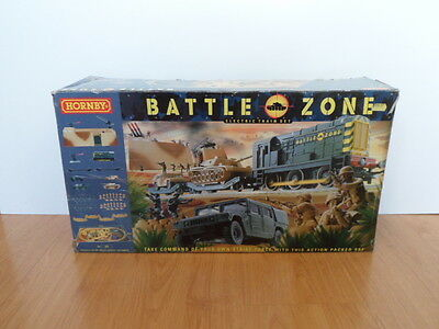 Hornby T1501 Battle Zone Set - Incomplete