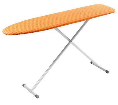Full Size Heavy Duty Folding Ironing Board Orange