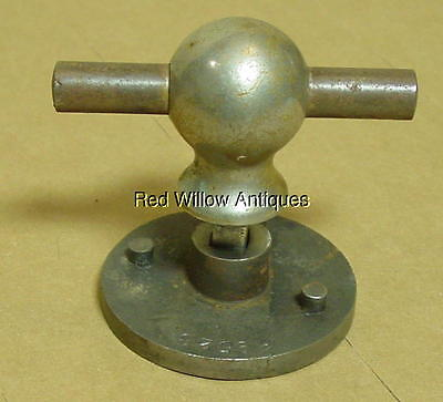 Antique Safe T Handle And Base #39528