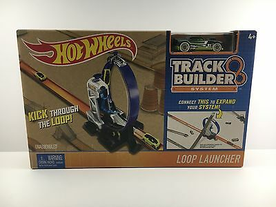 Hot Wheels Track Builder System  - Loop Launcher - Brand New, Sealed