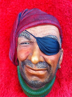 Bossons - Pirate With Eye Patch. Full Congleton Backstamp. #113