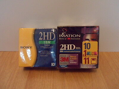 Sony - Imation 2HD IBM Formatted Floppy Disks