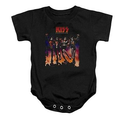 Kiss - Destroyer Cover -Infant Snap Suit- 18 months old