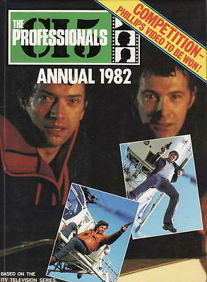 The Professionals Annual 1982 Lewis Collins Martin Shaw