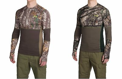 Under Armour Men's UA ColdGear Infrared Scent Control Fitted Long Sleeve Shirt
