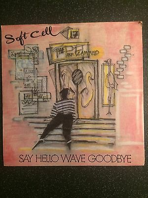 "Soft Cell - Say Hello Wave Goodbye - UK 7"" Single"