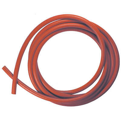 E. JAMES Rubber Cord,Silicone,1/4 In Dia,10 Ft, CSSIL-1/4-10, Red