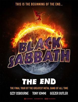 Black Sabbath, The Final Tour, Standing Tickets, O2 Arena London, 31st January