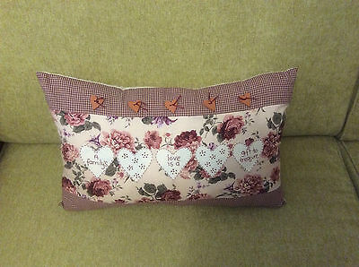 Embroided Cushion