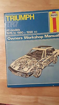 Triumph Hanyes Owners Workshop Manual
