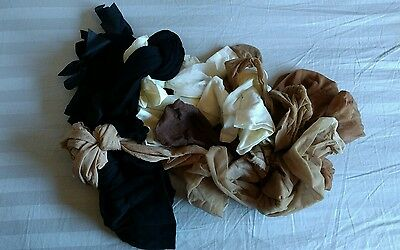 11 Pair LOT Stockings/Thigh Highs