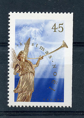 Weeda Canada 1764as VF mint NH booklet single, 45c Angel 1998 Christmas CV $5