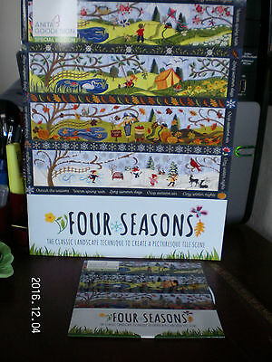 Anita Goodesign FOUR SEASONS OF THE YEAR machine embroidery hoop QUILT CD