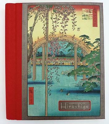 Hiroshige Deluxe Address Book Japanese Woodblock Prints New