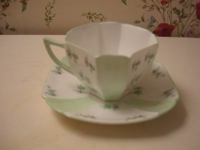Shelley Fine China,queen Anne Shape ,charm,cup And Saucer