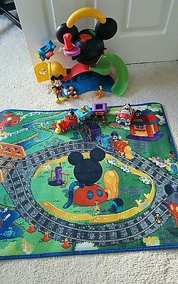 Disney Mickey Mouse Clubhouse playset house  Play Mat playmat