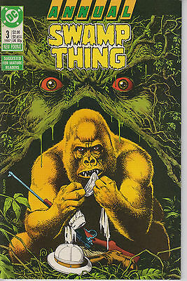 Swamp Thing Annual 3 - 1987 - Very Fine