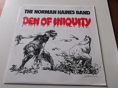 The Norman Haines Band Den Of Iniquity Reissue Lp