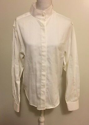 CAVALLO Competition Show Shirt Ratcatcher Womens White Longsleeve 42