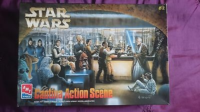 1998 STAR WARS Cantina Action Scene Model Kit (AMT ERTL) RARE