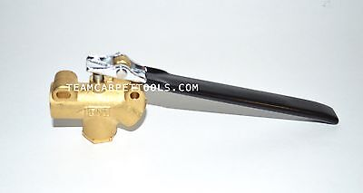 "Carpet Cleaning 1/4"" DAM Brass Angle Valve 1200 PSI for Truckmount/Portable Wand"