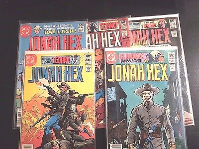 Jonah Hex Lot of 5  #'s 52 thru 56 - Nice Condition !