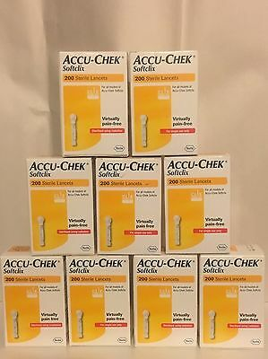 Accu-chek Softclix Lancets ***One Off Bargain***    9 Boxes for ....... Only £59