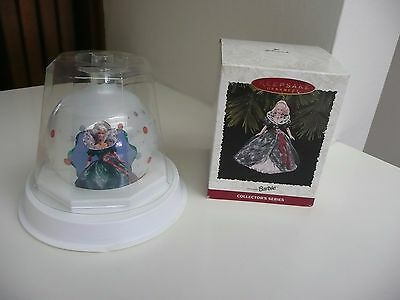 1995 Barbie Hallmark Holiday Christmas Ornament & Jcpenney Ornament