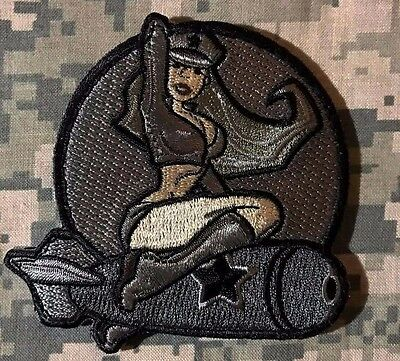 Wwii Us Army Isaf B52 Air Pinup Girl Acu Usa Military Velcro Morale Patch
