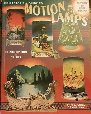 Vintage Motion Lamps Identification and Values Collector's Book ALL Color Photos