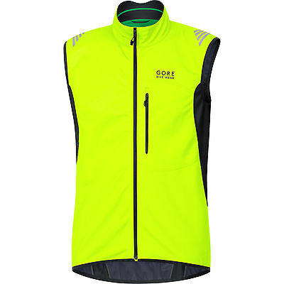 Gore Bike Wear Power Windstopper Soft Shell Thermo - Chaleco para hombre