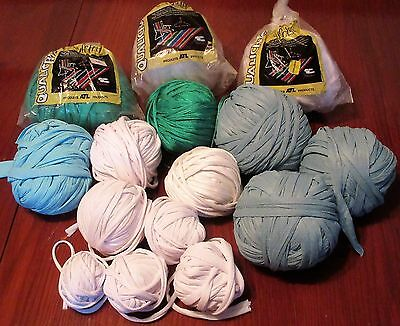 Lot of Nylotex Balls of Yarn for Weaving or Knittng  Assorted Colors 100% Nylon