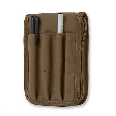 "Police Memo Notebook Cover, fits 3 1/2"" x 5"" Police Memo Book, Coyote Brown"