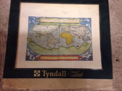 Book Of MAP OF THE WORLD  Plus 5 Others  c: 1570 A3 REPRODUCTION PRINTs