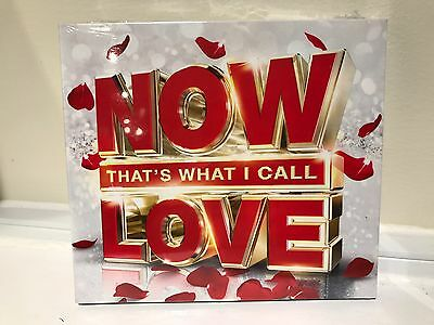 NOW That's What I Call Love Box set...3.CDS...NEW AND SEALED...