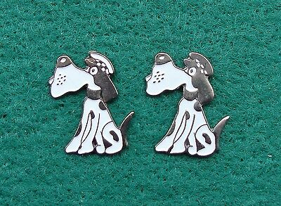 Strathclyde Police CUMBERNAULD tie tac pin badges DOMINO THE DOG