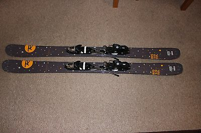 Rossignol Sassy 7 Ski's and Bindings 150CM