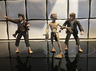 LORD OF THE RINGS - Figure Bundle GOLUM, SAM AND FRODO