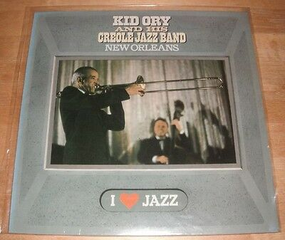 Kid Ory And His Creole Jazz Band - New Orleans LP
