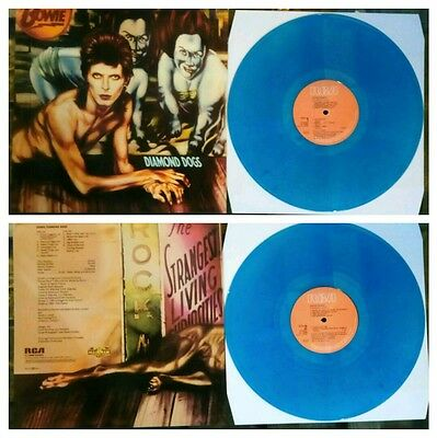 david bowie diamond dogs coloured lp