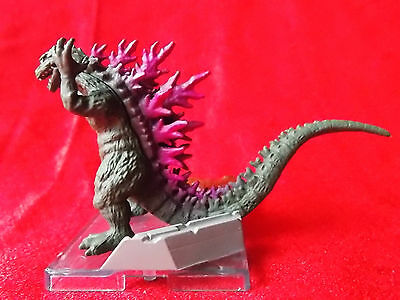 "Godzilla / BANDAI Real Godzilla SOLID PVC Figure Length 4.2"" 10cm KAIJU MINT UK"