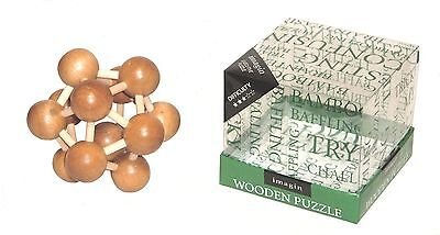 NEW IMAGIN Executive toy WOODEN PUZZLE Difficulty *** brainteaser