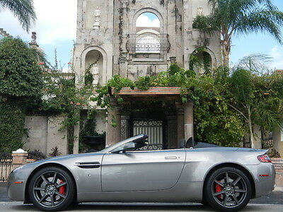2008 Aston Martin Vantage F-1 CONVERTABLE,LOW MILES,NAV,PRICED TO SELL!! WE FINANCE/LEASE,TRADES WELCOME,EXTENDED WARRANTIES AVAILABLE,CALL 713-789-0000