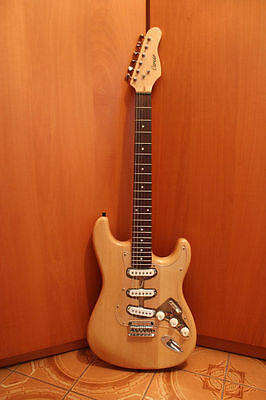 Stratocaster madera de aliso by luthier