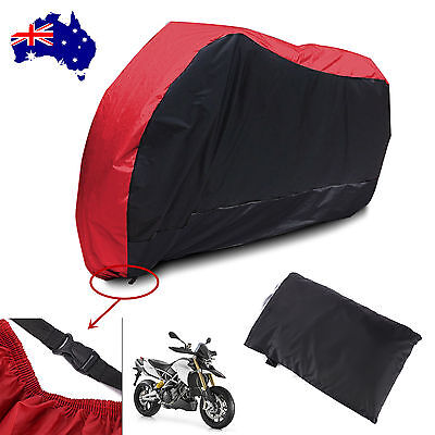 XL Waterproof Outdoor Motorcycle Motor Bike Scooter Protector Dust Rain Cover